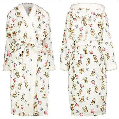 New Disney Winnie The Dressing Gown For Ladies