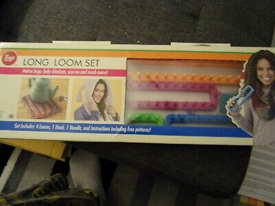 Boye Long Loom Set Makes Baby Blankets Bags Scarves And More