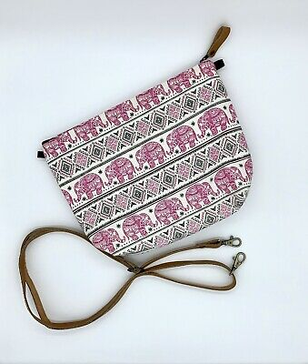 SHIPS FREE - Elephant Purse From Thailand With Optional Adjustable Leather Strap