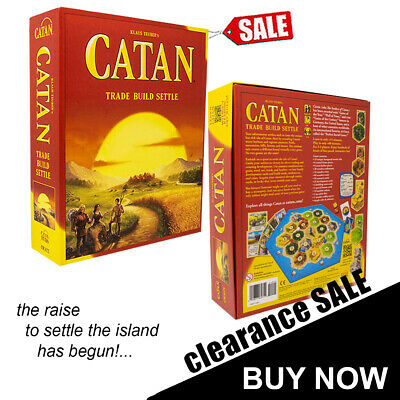 The Settlers of Catan Cards Game 5th Edition Base Game Board Game AU