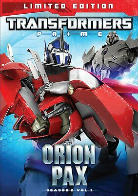 Nuevo Sellado TV DVD Transformers Prime Temporada 2 Volumen 1 Orion Pax Limitado