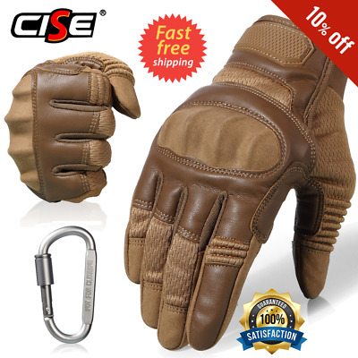 Gloves Men Motorcycle Leather Cafe Racer Leather Biker Vintage 1 Pair Winter new
