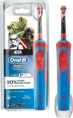 Braun Oral-B Star Wars Stages Power Kids Electric Toothbrush New Sealed