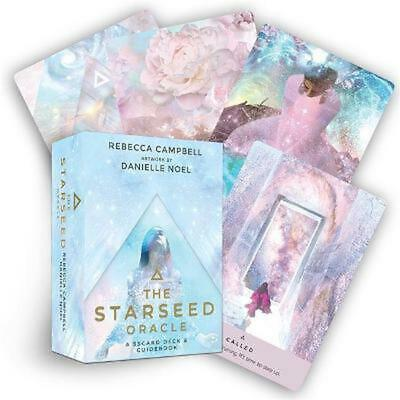 The Starseed Oracle: A 53-Card Deck and Guidebook by Rebecca Campbell Free Shipp