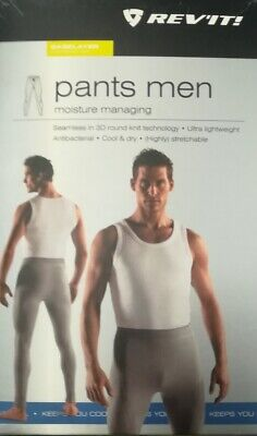 Pantalone Intimo Termico Rev'it Pants Oxygen Ll Grey Tg Xl
