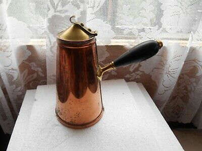 Rare 1850S 60S W.a.s. Benson Patented Lined Arts & Crafts Vessel For Toilet Use