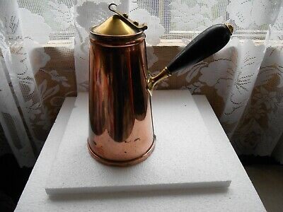 Rare 1850S+ W.a.s. Benson Patented Jacketed Arts & Crafts Vessel For Toilet Use