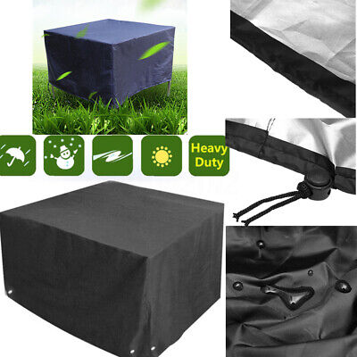 Outdoor Patio Furniture Cover Waterproof Garden Rattan Table For Rain Protection