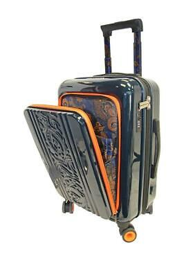 """New with Tag - $398 Robert Graham Straton 20"""" Carry-On Spinner Navy Suitcase"""
