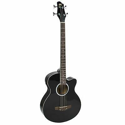 Acoustic Electric Bass Guitar - Full Size, 4 String,