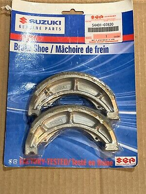 Suzuki Genuine, Brake Shoe, P/N 54401-07820