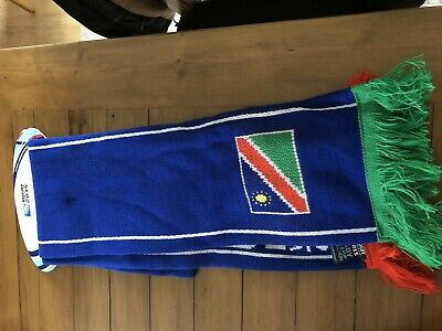 Red BNWT Official RWC Rugby World Cup 2015 Wales Flag Knitted Scarf