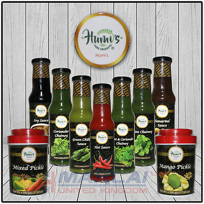 Humis Chilli Sauce Table Condiment Spicy Indian Salsa Green Kebab Chips Burger
