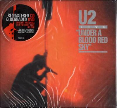 U2 SEALED 2008 DELUXE CD + DVD REISSUE Live : Under A Blood Red Sky