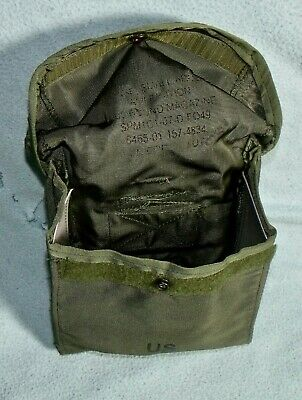 Usgi Army Od Green 200 Round Alice Saw Ammo Utility Pouch Military Surplus