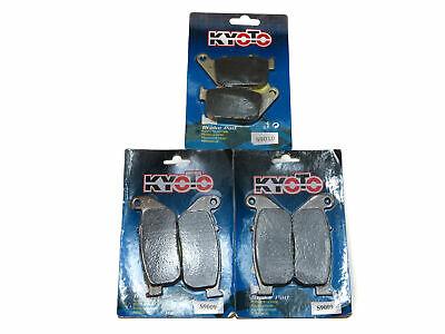Kyoto Brake Pads Front & Rear For Harley Davidson XL 883 R Roadster 2010