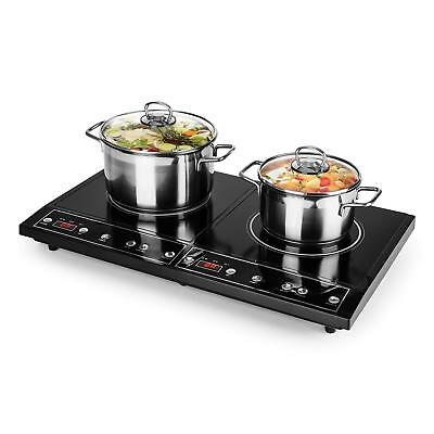 [OCCASION] oneConcept Chefzone Double plaque à induction encastrable timer 3400W