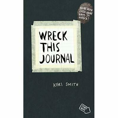 Wreck This Journal: To Create is to Destroy, Now With E - Diary NEW Smith, Keri