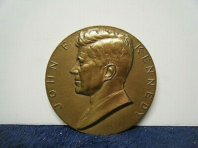 Colorized JOHN F U.S Commemorative Medal Inaugural Bronze Coin JFK KENNEDY