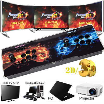 Pandora's Box 12S 3188 in 1 Video Gaming 2Player Arcade Console LCD USB 3D HD US