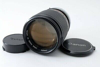 Canon FD SC S.C 135mm f/2.5 Film Camera Lens Excellent From JAPAN