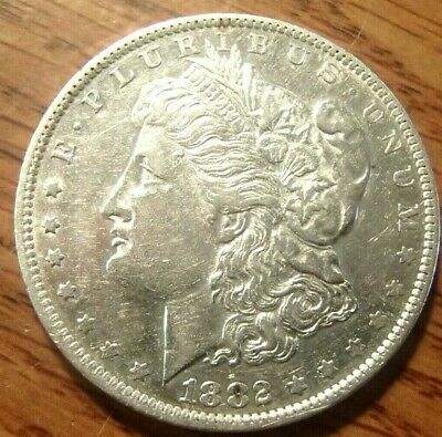 1882-O Morgan Silver Dollar Nice High Grade Circulated Coin #2