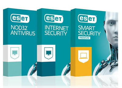 ESET NOD32 Internet Security 2020 3 PC 2 Anno GLOBAL, ESD Consegna immediata