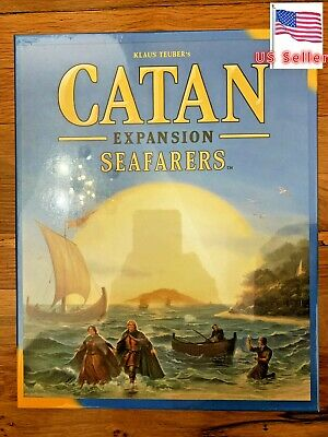 Catan Expansion Seafarers Board Game 4 Player Free Shipping- Original