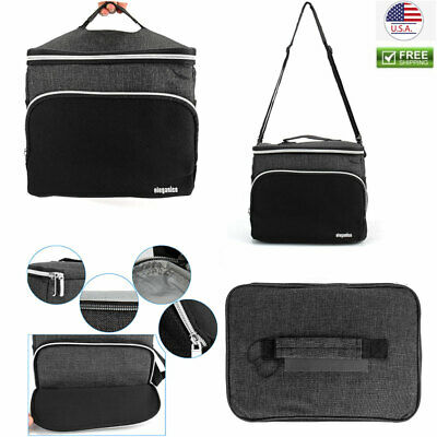 Insulated Thermal Lunch Bag Travel Picnic Lunch Box Tote for Women Men Portable