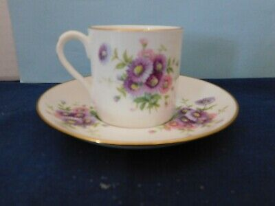 HAMMERSLEY Vintage Fine Bone China Cup and Saucer 4149 Made in England Daisies