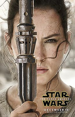 """Star Wars movie poster - The Force Awakens poster (f)  11"""" x 17"""" inches"""