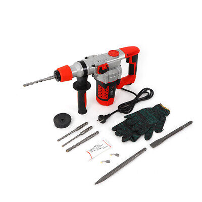 Heavy Duty 220V 2200W Rotary Hammer Drill With Simple Drill Set Wall Drilling