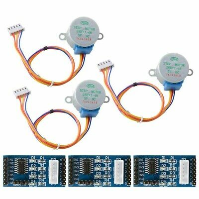 Hot 3X Sets ULN2003 Motor Driver Board +DC 5V Motor Stepper 28BYJ-48 for Arduino