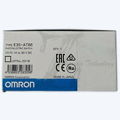 1pc new Omron photoelectric switch E3S-AT86 one year warranty