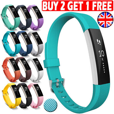 For Fitbit Alta HR ACE Strap Replacement Silicone Buckle Sport Watch band