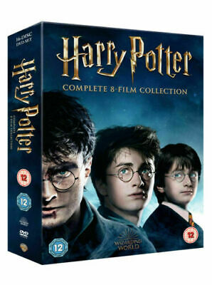 Harry Potter DVD Box Set 1-8 Complete 8 Film Collection Boxset 2019 new