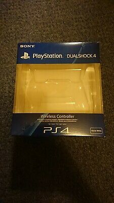 Sony PlayStation 4 Dualshock 4 Glacier White Controller Box Only