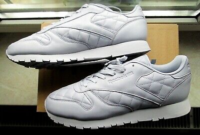 REEBOK CLASSIC LEATHER MELTED METAL PEARL METALL GREY GOLD WHITE 42, 8 10,5 NEU
