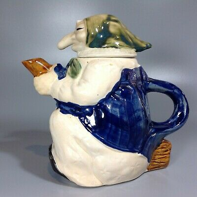 Vintage Witch Shaped Teapot
