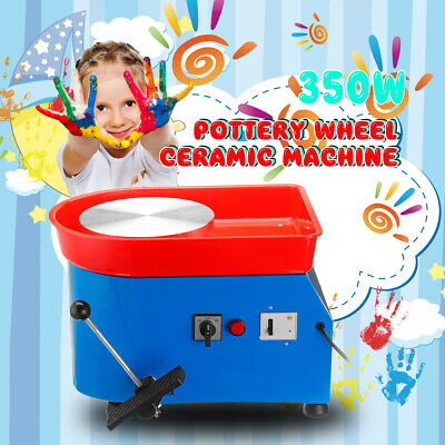 350W Pottery Wheel Machine 110/220V For Ceramic Work Ceramics Clay Foot Pedal