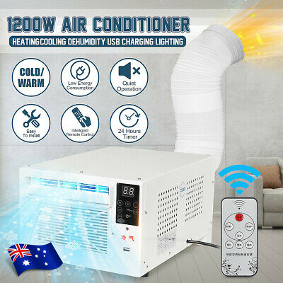 1200W Refrigerated Cooler Window Air Conditioner Cooling Timing Summer