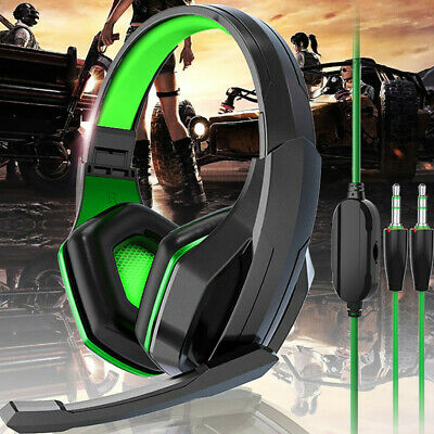 Gaming Headset For PS4 Xbox One Headphone PC Earphone 3.5mm Stereo Sound w/ Mic