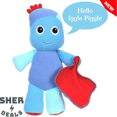 In the Night Garden Snuggly Singing Iggle Piggle Super Soft Cuddly Music Toy NEW