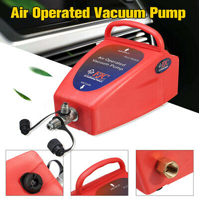 Pneumatic 4.2CFM Air Operated Vacuum Pump A/C Air Conditioning System To-ol Auto