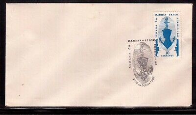 Brazil 1967 First Day Cover, Navy Week !!