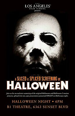 Halloween movie poster print  : 11 x 17 inches - Michael Myers (style C)