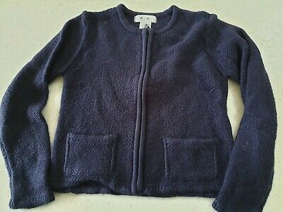 La Redoute Dark Blue Cardigan Size 126  6 Years + Goid Condition