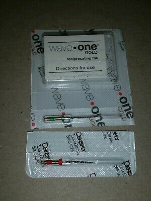 Wave One Gold 1 Medium 1 Primary 21 mm Endodontic File Root Canal Dentsply