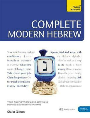 Teach Yourself Complete Modern Hebrew: (Book and audio support) by Shula Gilboa