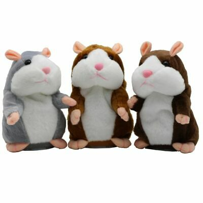 Talking Hamster Plush Toy Lovely Speaking Sound Record Repeats What You Say Cute